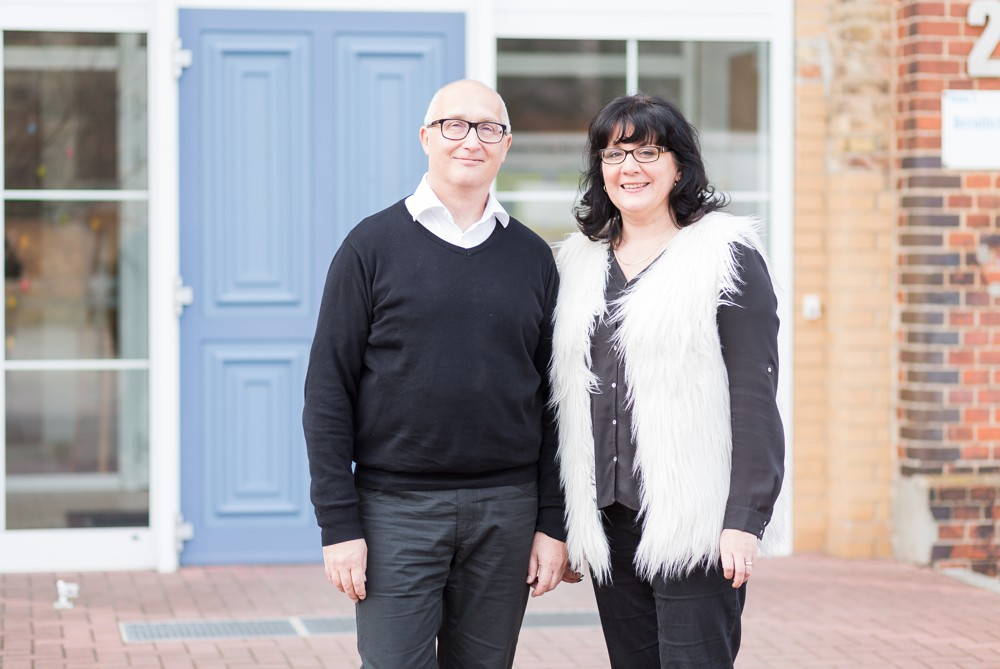 FAW Geschäftsfüher Thomas Enkelmann und Kirsten Schmitt